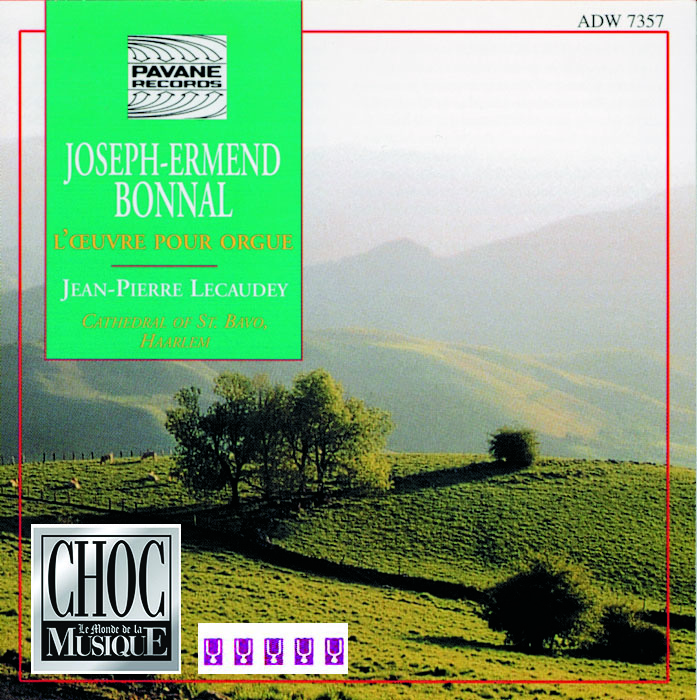 CD  ORGUE BONNAL LEGERE - 2